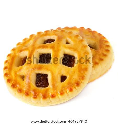 Lenten cookies with apricot jam #404937940