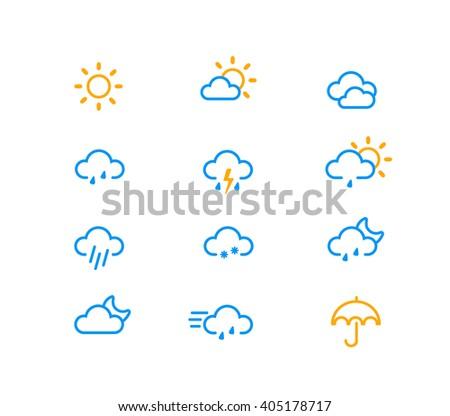 Weather icon #405178717