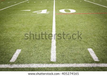 Football Field Markings #405274165