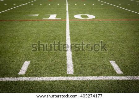 Football Field Markings #405274177