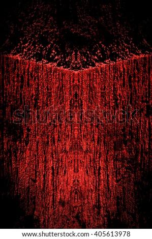 Creepy dark background - grunge illustration