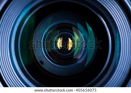 Photography Lens Extreme Close Up #405616075