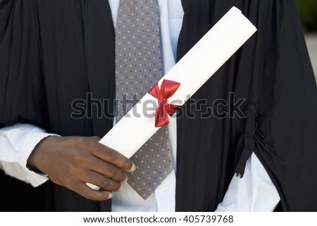 A graduate, close-up #405739768