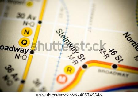 Steinway St. 6 Av/Central Park West/Queens Blvd/Myrtle Blvd Line #405745546