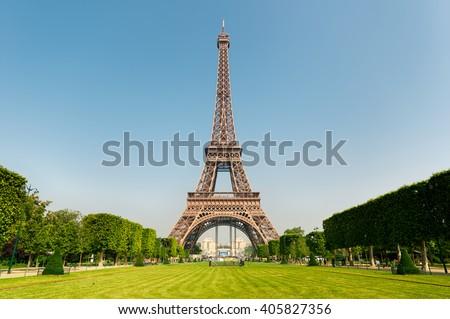 Eiffel Tower, Paris, France. #405827356