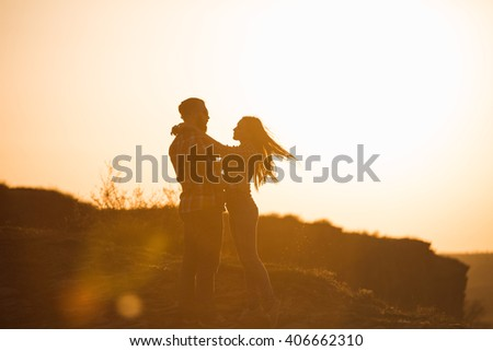 male, female, relationships, sihouettes #406662310