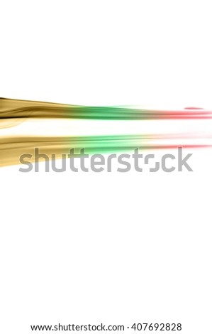 Abstract color smoke on white background, smoke background,red and green and brown ink background, red ,green, brown #407692828