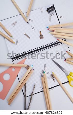 school supplies #407826829