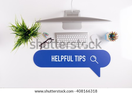 HELPFUL TIPS Search Find Web Online Technology Internet Website Concept