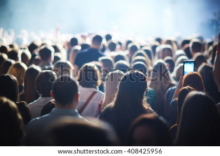 Crowd of fans #408425956