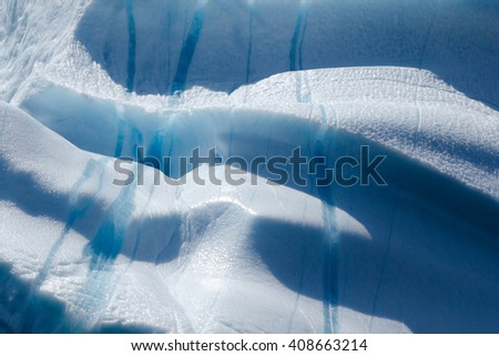 Close-up of an iceberg. #408663214
