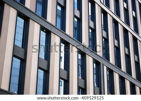 Modern facade #409529125