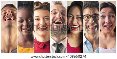 Happy people Royalty-Free Stock Photo #409650274