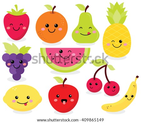 Cute Fruit Royalty-Free Stock Photo #409865149