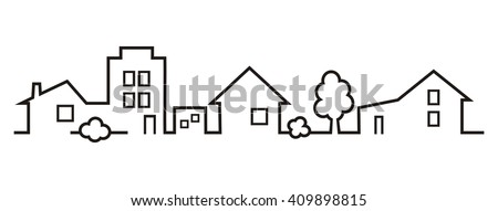 cityscape, vector icon