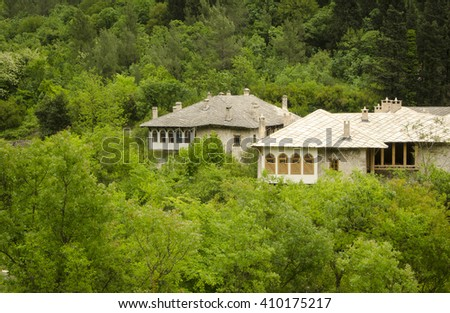 Old traditional bosnian house in Stolac #410175217