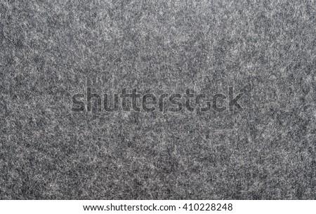 felted fabric dark gray color. Felt texture for text. #410228248