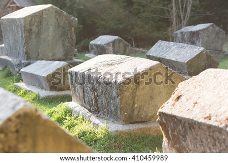 The Medieval Tomb in Bosnia #410459989