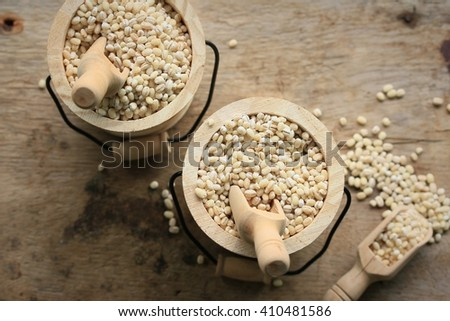 Barley seeds #410481586