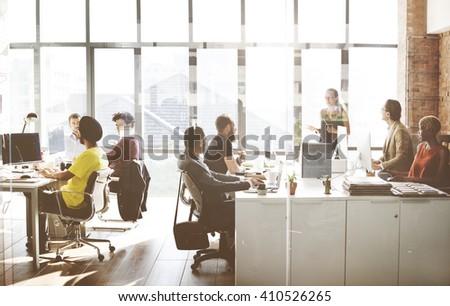 Business Corporation Organization Teamwork Concept #410526265