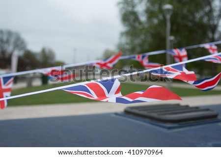 UK bunting flags