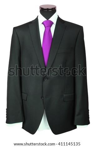 coat under the white background #411145135
