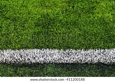 Artificial Turf soccer field side #411200188