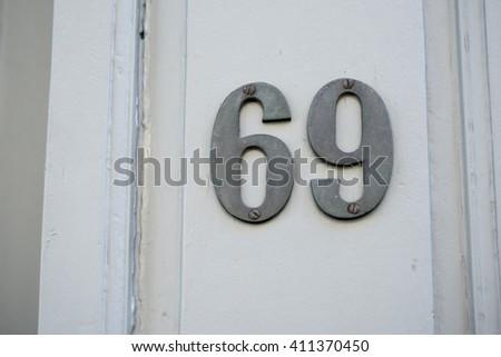 Number 69 #411370450