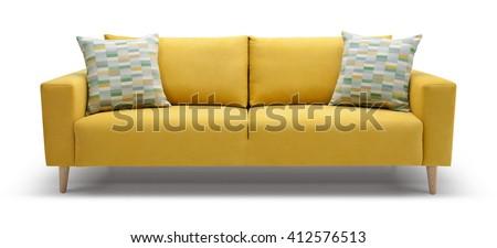 Scandinavian Sofa #412576513