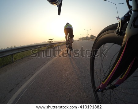 Cycling morning. #413191882