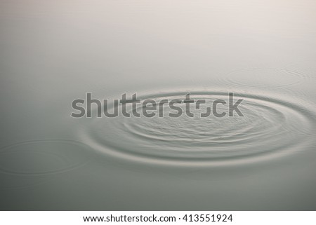abstract background with water ripple in the morning #413551924