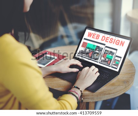Web Design Technology Browsing Programming Concept #413709559