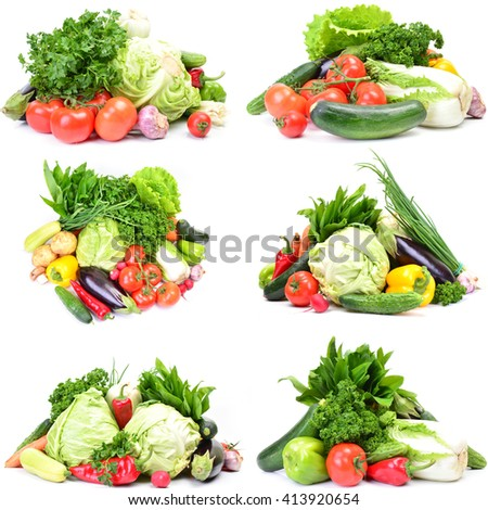 Fresh vegetables #413920654
