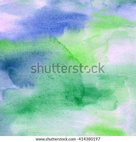 green blue watercolor #414380197