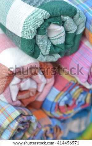 colorful fabric on sale, hand made garment, fabric market #414456571