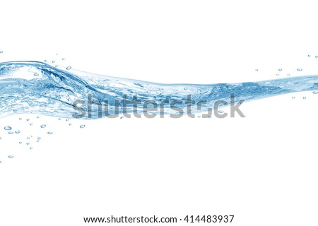 Water,water splash isolated on white background #414483937