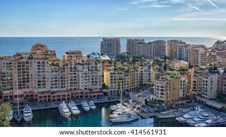 Luxury appartments on the seaside of Monaco #414561931
