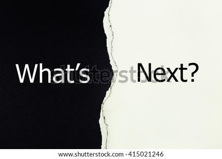 what is next written under torn paper #415021246