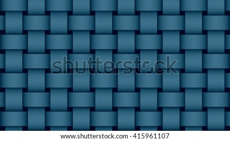 dark blue weave illustration #415961107