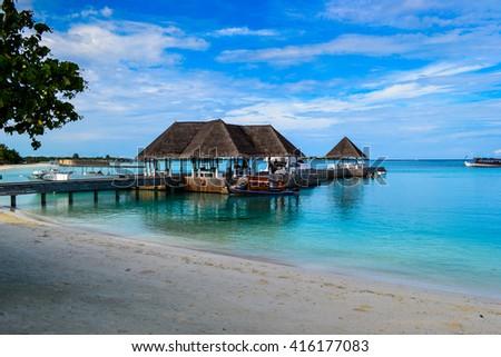 photo of beauty Maldives islands