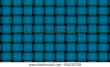 dark blue weave illustration #416210728