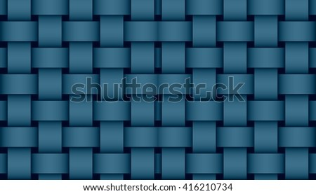 dark blue weave illustration #416210734