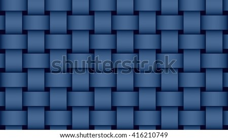 dark blue weave illustration #416210749