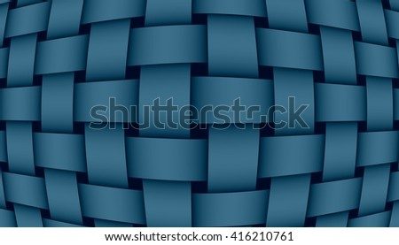 dark blue weave illustration #416210761