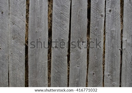 Old Wooden fence  background texture #416771032