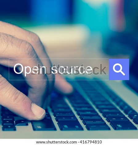 SEARCH WEBSITE INTERNET SEARCHING OPEN SOURCE CONCEPT