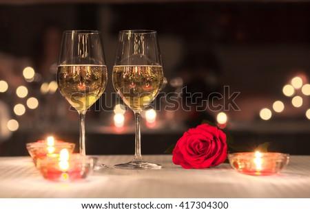Lovely romantic dinner.  #417304300