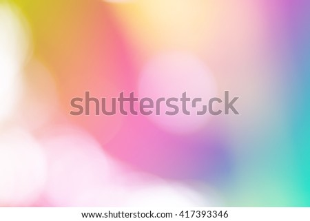 Soft sweet blurred pastel color background with natural bokeh. Abstract gradient desktop wallpaper.  #417393346