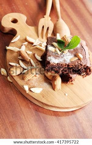 chocolate brownie #417395722