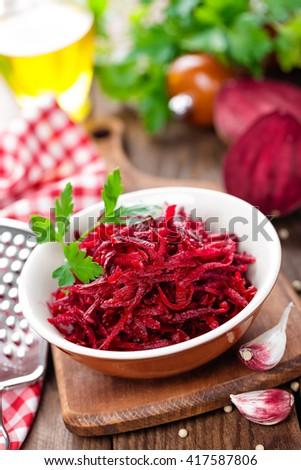 beet salad #417587806